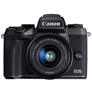 Canon EOS M5 15-45mm IS STM レンズキット ◆業界最長1年間の中古保証付き...