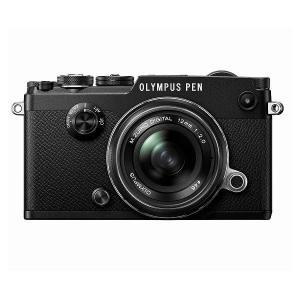 OLYMPUS PEN-F 12mm F2.0 レンズキット ブラック ◆業界最長1年間の中古保証付...