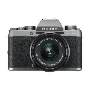 中古 1年保証 美品 FUJIFILM X-T100 レンズキット XC 15-45mm OIS P...