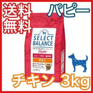 セレクトバランス パピー チキン 小粒 子犬 母犬用 3kg ドッグフード|premium-asuka