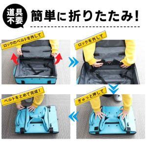 スーツケース 機内持ち込み キャリーバッグ 折りたたみ 大容量 軽量 キャリーケース 折り畳み 修学旅行 ビジネス出張 旅行かばん 夏休み お盆 海外 国内|premium-interior|12