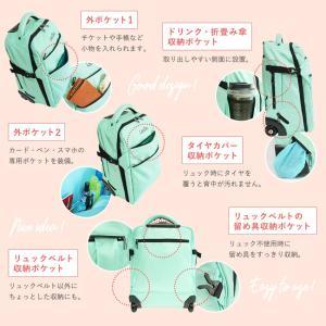 スーツケース 機内持ち込み キャリーバッグ 軽量 ソフトスーツケース キャスター付き リュック ソフトキャリーバッグ 旅行かばん 夏休み お盆 帰省 国内 海外|premium-interior|13