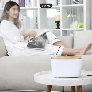 加湿器 卓上 超音波式 静音設計 大容量 LEDライト 空焚き防止 アロマディフューザー 空気浄化 持続保湿 オフィス 寝室 肌荒れ対策 ドライアイ対策 ギフト|premium-interior|13