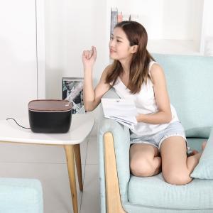 加湿器 卓上 超音波式 静音設計 大容量 LEDライト 空焚き防止 アロマディフューザー 空気浄化 持続保湿 オフィス 寝室 肌荒れ対策 ドライアイ対策 ギフト|premium-interior|16