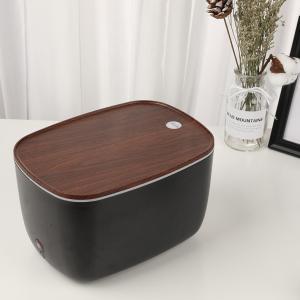 加湿器 卓上 超音波式 静音設計 大容量 LEDライト 空焚き防止 アロマディフューザー 空気浄化 持続保湿 オフィス 寝室 肌荒れ対策 ドライアイ対策 ギフト|premium-interior|17