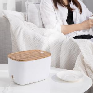 加湿器 卓上 超音波式 静音設計 大容量 LEDライト 空焚き防止 アロマディフューザー 空気浄化 持続保湿 オフィス 寝室 肌荒れ対策 ドライアイ対策 ギフト|premium-interior|21