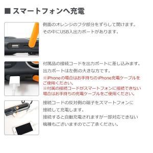 LEDランタン 懐中電灯 USB 充電式 LEDライト 防災グッズ 停電対策 地震 防災ラジオ 多機能 手回し充電 電池不要 携帯充電器 スマホ充電 夜間蓄光|premium-interior|14