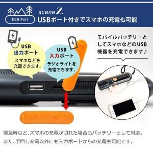 LEDランタン 懐中電灯 USB 充電式 LEDライト 防災グッズ 停電対策 地震 防災ラジオ 多機能 手回し充電 電池不要 携帯充電器 スマホ充電 夜間蓄光|premium-interior|05