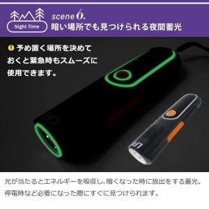 LEDランタン 懐中電灯 USB 充電式 LEDライト 防災グッズ 停電対策 地震 防災ラジオ 多機能 手回し充電 電池不要 携帯充電器 スマホ充電 夜間蓄光|premium-interior|09