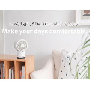 扇風機 卓上 USB 静音 熱中症対策 サーキュレーター 空気清浄機 マイナスイオン ミニファン ペット用 花粉対策 PM2.5 HEPAフィルター 空気浄化 premium-interior 20