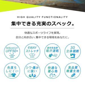 トレーニングウェア メンズ 上下 ランニングウェア フィットネス スポーツウェア UVカット 大きいサイズ M L XL 2XL 3XL 半袖 吸汗速乾 UPF50+ 2019 新作|premium-interior|04