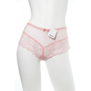 Aubade/オーバドゥ (セール) 2015AW Douce Faveur(甘い賛成) ボクサーショーツ Au103RE Z370 ピンク|premium-lingerie