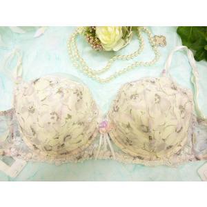 lejaby/レジャビー (セール70%OFF) 送料無料 パテッドブラジャー Lb012WH 08332 プリント 白 残り1点のみ|premium-lingerie
