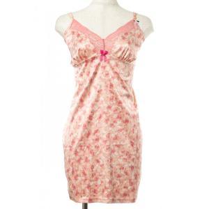 Gossard/ゴサード ELEGANCE スリップ Gs017EL/RO 26GS5299 ピンク プリント|premium-lingerie