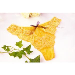 タンガ チェスニー ビューティ CHASNEY BEAUTY  MIGNON タンガ Cb006-19YE 黄|premium-lingerie