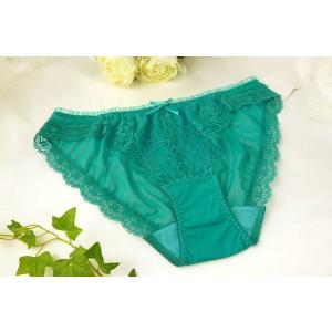 CHASNEY BEAUTY / チェスニー ビューティ Chicago Lace ショーツ Cb016-82TQ 青 premium-lingerie