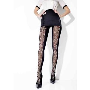 (セール50%OFF)GIRARDI/ジラルディ 送料無料 DELICES(デリス) ストッキング タイツ 花 50デニール GI005|premium-lingerie