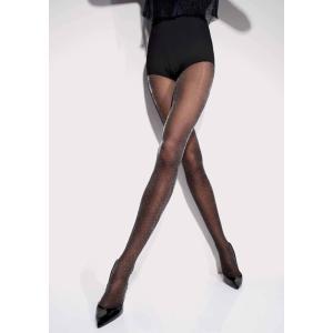 50%OFF (SALE セール) GIRARDI/ジラルディ ストッキング タイツ 黒 ドット 30デニール GI012 CIEL DE PARIS(パリの空)|premium-lingerie