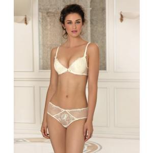 リズシャルメル  (期間限定30%OFFセール) LISE CHARMEL (ウルトラフェミニン) ボクサーショーツ Lc1505NA ACC0442 白 0(S) 1(M) 2(L) 3(XL) ギフト プレゼント|premium-lingerie