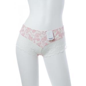 Aubade/オーバドゥ (セール) 送料無料 2016SS La Belle Corsaire(ラ ベル コルセーユ) ボクサーショーツ Au163BU CA70 白 ピンク|premium-lingerie