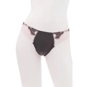 50%OFF (SALE セール) TWIN-SET/ツインセット  LACE タンガ TW014VI ピンク 紫|premium-lingerie