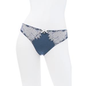 50%OFF (SALE セール) TWIN-SET/ツインセット  LACE ショーツ TW018BL 青 ベージュ premium-lingerie
