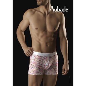 30%OFF (SALE セール) メンズ ボクサーオーバドゥ パンツ 下着 Aubade aubadeMEN メンズボクサーショーツ AuM001 XB73M プリント インポート フランス|premium-lingerie