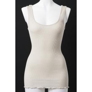 Oscalito/オスカリート ラッピング・送料無料 タンクトップ インナーアイテム Os006 3122 ベージュ|premium-lingerie