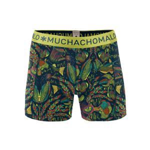(ギフト) ボクサーパンツ S M L MUCHACHOMALO/ムチャチョマーロ  メンズショーツ Mc003 1010ELEMEN05 プリント下着 前開き ワイルド 総柄 フィット感|premium-lingerie