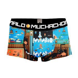 MUCHACHOMALO/ムチャチョマーロ 送料無料 2017SS メンズショートボクサーショーツ Mc006 3020XPERI02 プリント|premium-lingerie