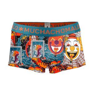 (最大で15倍) MUCHACHOMALO/ムチャチョマーロ 送料無料 2017SS メンズショートボクサーショーツ Mc010 3020FEAR02 プリント|premium-lingerie