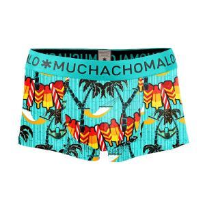 (父の日 ギフト) ボクサーパンツ S M L MUCHACHOMALO/ムチャチョマーロ  メンズ ボクサー ショート ショーツ Mc014 3020SEASON05 プリント下着 前開き ワイルド|premium-lingerie