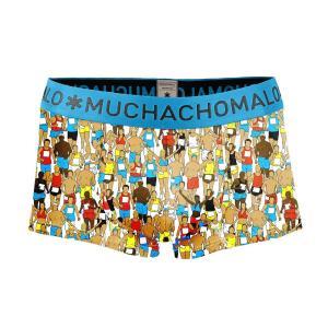 (ギフト) ボクサーパンツ S M L MUCHACHOMALO/ムチャチョマーロ  メンズ ボクサー ショート ショーツ Mc038 3020RUN02 プリント下着 前開き ワイルド 総柄 フィ|premium-lingerie
