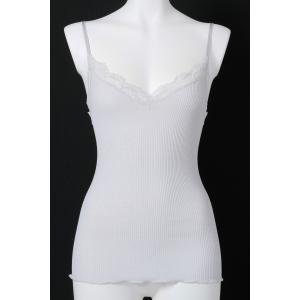 オスカリート Oscalito  キャミソール インナーアイテム Os010 3160 グレーコットン100% インポートイタリア製 フィロスコッツィアコットン 最上級|premium-lingerie