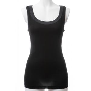 Oscalito/オスカリート ラッピング・送料無料 タンクトップ インナーアイテム Os018 16122 黒|premium-lingerie
