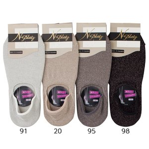 N-PLATZ レディース 婦人 ラメ深履きペッツ (フットカバー) プレゼント ギフト LEG024 黒 03082352 数量限定 ナ|premium-lingerie