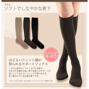 スワニー 婦人 ハイソックス ソフト口ゴム (送料無料) LEG018 03894155|premium-lingerie