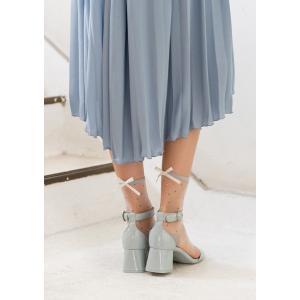 N-PLATZ 婦人 レディース テグスドットW/リボン靴下 LEG026 03082317 ナイガイ 靴下 ソックス レディース 女性|premium-lingerie