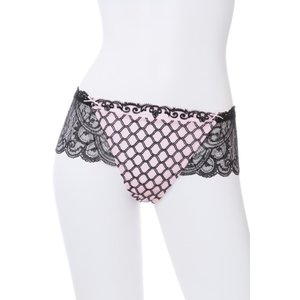 リズシャルメル  下着  (40%OFFセール) SMLサイズ LISE CHARMEL ボクサーショーツ Lc241AR/ACC0485 私は告白する ショーツ 黒 ピンク ギフト プレゼント インポ|premium-lingerie