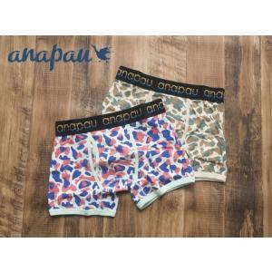 送料無料 アナパウ/anapau メンズ ボクサーパンツ an004/P-1507 ハート迷彩 アンダーウェア M・L|premium-lingerie