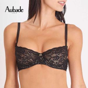 オーバドゥ Aubade 1/2カップ ノンパテッド ブラジャー Au260BL HK14 ローズエッセンス ギフト プレゼント セクシー 下着 ランジェリー インポート フランス 高|premium-lingerie