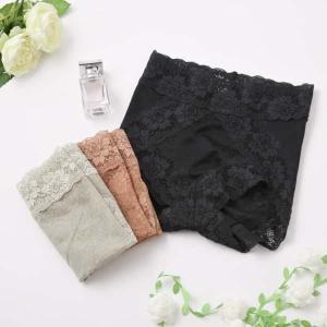 ハキラボ 深履きショーツ パンツ パンティ レディース 下着 ガードル サポート スタンダード 深履き 深め 深い ヒップアップ 美尻 お腹 引き締め 補正 日本製 レ|premium-lingerie