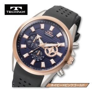 (送料無料)TECHNOS(テクノス)スポーツクロノ「T6396」(腕時計/ウォッチ/ウレタンベルト/ステッチ入/クロノグラフ/10気圧防水/尾錠バックル/日本製クォーツ) premium-pony