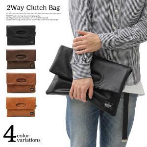 REGiSTA2WAYクラッチバッグ「573」(セカンドバッグ ユニセックス ハンドバッグ 鞄 タウンユース 軽い 軽量 A4 ジップポケット マグネット開閉)|premium-pony