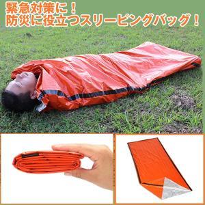 緊急用 どこでも寝るんだ (寝袋 シュラフ 封筒型 防災グッズ 災害対策 地震対策 緊急用 コンパクト 簡単寝袋 アウトドア 登山 キャンプ)|premium-pony