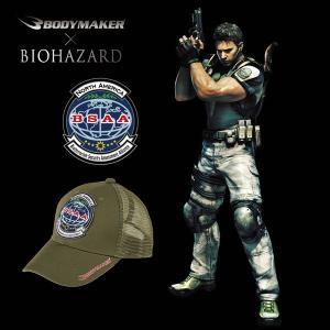 BIOHAZARD BSAA メッシュキャップ(バイオハザード/BODYMAKER/ボディメーカー/帽子/フリーサイズ/S.T.A.R.S./BSAA/Umbrella/ロゴ/サバゲー/ストリート) premium-pony