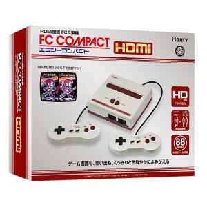 エフシーコンパクトHDMI「FC互換機」クリア,色鮮やか,懐かしの名機,本体,コントローラ2個,HDMIケーブル,AV端子ケーブル,ACアダプター) premium-pony