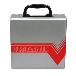クラシック収納箱「クラシックミニFC用」(本体,ケーブル類,ACアダプタ,収納,仕切り板取り外し可能,PVC) premium-pony