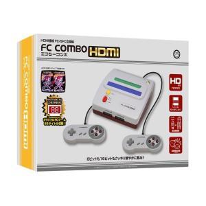 送料無料エフシーコンボHDMI「FC/SFC互換機」 (本体,コントローラ2個,HDMIケーブル,AV端子ケーブル,ACアダプタがセットになった,オールインパック) premium-pony