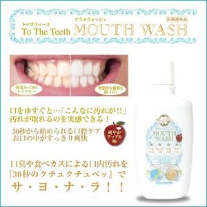 医薬部外品トゥザティース「マウスウォッシュ」 (300ml, 薬用,口臭予防,歯周炎予防,虫歯予防,歯を白く,オーラルケア,デンタルケア,白い歯)|premium-pony
